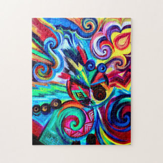Color Explosion Jigsaw Puzzle