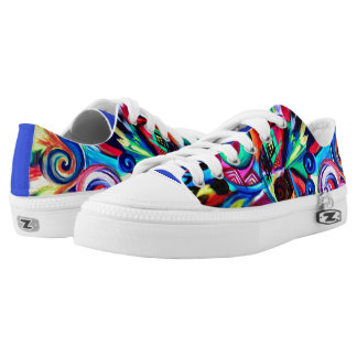 Color Explosion Low-Top Sneakers