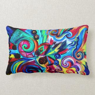 Color Explosion Lumbar Pillow