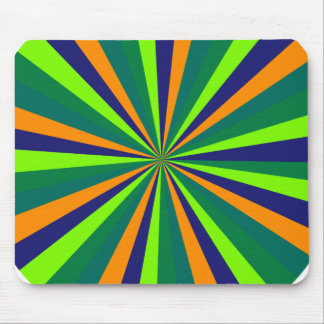 Color explosion mouse pad