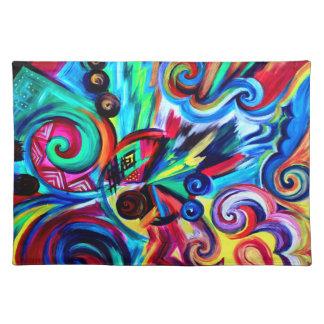 Color Explosion Placemat