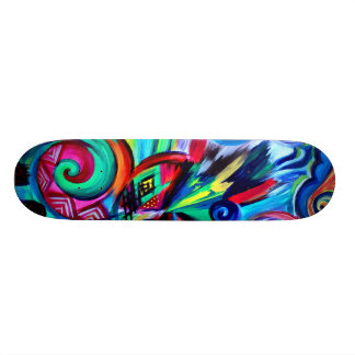 Color Explosion Skateboard Deck