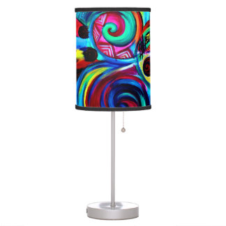 Color Explosion Table Lamp
