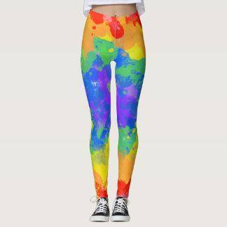 Color Explosion Tie Dye Leggings
