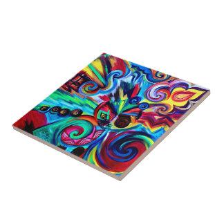 Color Explosion Tile