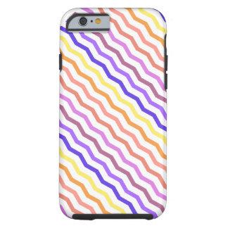 Color Explosion Zig Zag Chevron Colorful Tough iPhone 6 Case