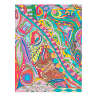 COLOR EYE CANDY COLLECTION 104 POSTCARD
