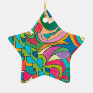 COLOR EYE CANDY COLLECTION 115 CERAMIC STAR ORNAMENT