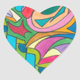 COLOR EYE CANDY COLLECTION 115 HEART STICKER