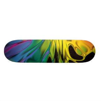 Color Flare Skateboard