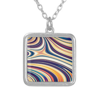 Color Form Abstract Curved Rounded Lines Flowing Pendant