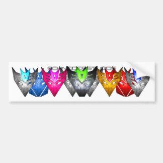 Color Formation trans Bumper Sticker