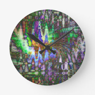 Color Fun Wallclock