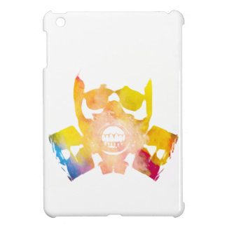 Color gas mask case for the iPad mini