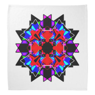 Color glass mandala bandana