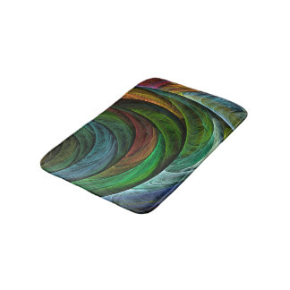 Color Glory Abstract Art Bathroom Mat