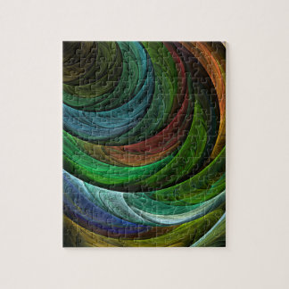 Color Glory Abstract Art Jigsaw Puzzle