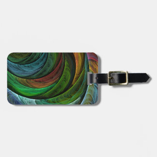 Color Glory Abstract Art Luggage Tag