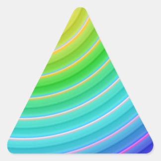 color gradient no 20 by Tutti Triangle Sticker