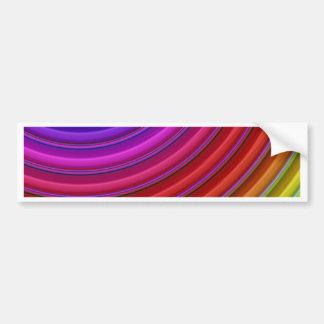 color gradient no. 21 by Tutti Bumper Sticker