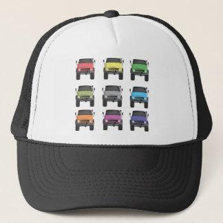 Color Grid Unimog Trucker Hat