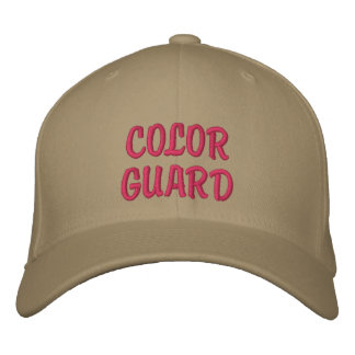 COLOR GUARD EMBROIDERED HAT