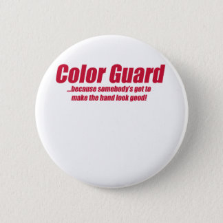 COLOR GUARD, FLAGS, ETC 2 INCH ROUND BUTTON