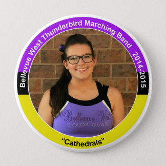 Color Guard HS2 (2018) 4 Inch Round Button