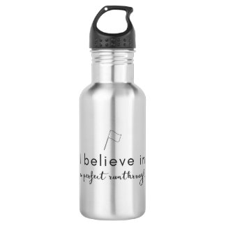 Color Guard: I Believe in a Perfect Runthrough 532 Ml Water Bottle