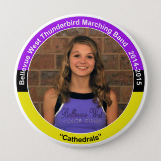 Color Guard KH (2018) 4 Inch Round Button