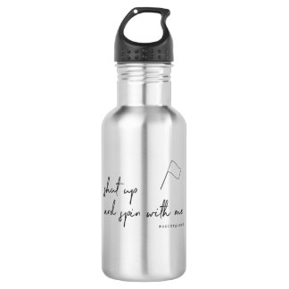 Color Guard: Shut up and Spin with Me 532 Ml Water Bottle