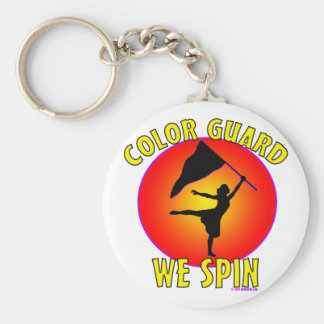 Color Guard... We Spin Keychain