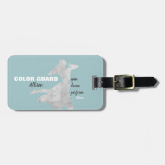 Color Guard With Spin Dance Perform | Luggage Tag