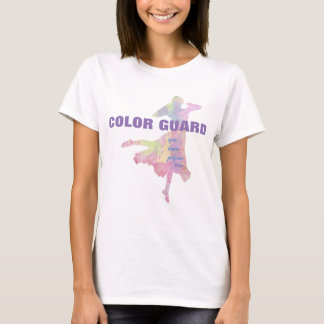Color Guard With Spin Dance Perform T-Shirt