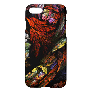 Color Harmony Abstract Art Matte iPhone 7 Case
