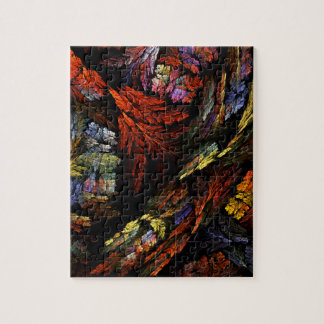 Color Harmony Abstract Art Puzzle