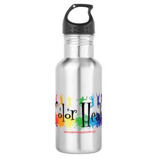 Color Heals water bottle