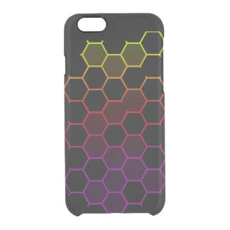 Color Hex on Black Clear iPhone 6/6S Case