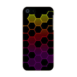 Color Hex on Black Incipio Feather® Shine iPhone 5 Case