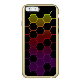 Color Hex on Black Incipio Feather® Shine iPhone 6 Case