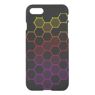 Color Hex on Black iPhone 8/7 Case