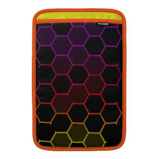 Color Hex on Black MacBook Air Sleeve