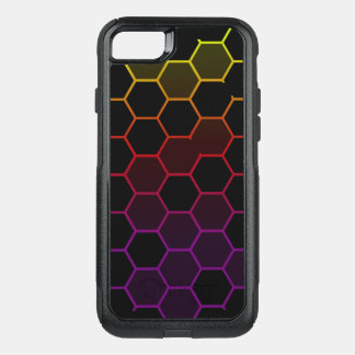 Color Hex on Black OtterBox Commuter iPhone 8/7 Case