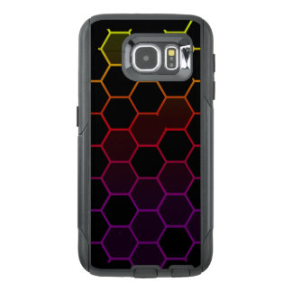 Color Hex on Black OtterBox Samsung Galaxy S6 Case