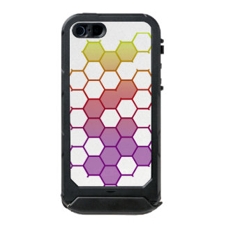 Color Hex on White Incipio ATLAS ID™ iPhone 5 Case