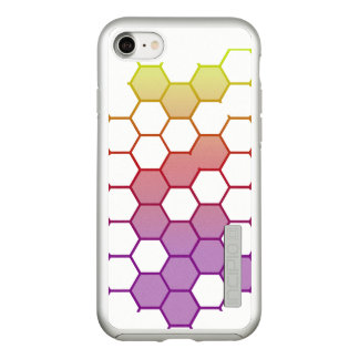 Color Hex on White Incipio DualPro Shine iPhone 8/7 Case