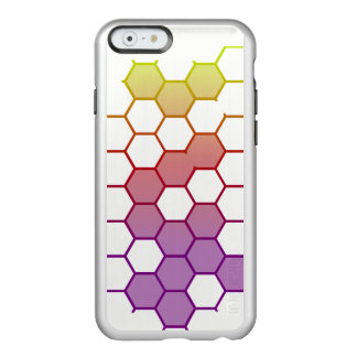 Color Hex on White Incipio Feather® Shine iPhone 6 Case