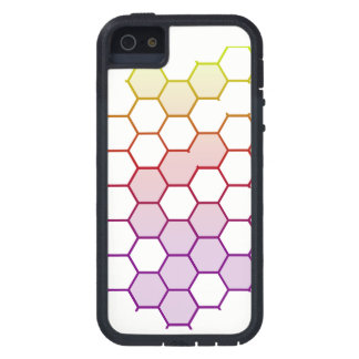 Color Hex on White iPhone 5 Cover