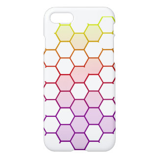 Color Hex on White iPhone 8/7 Case