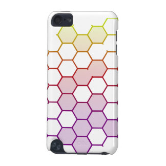 Color Hex on White iPod Touch (5th Generation) Case